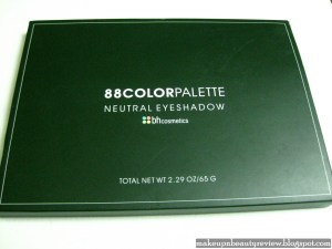 BH Cosmetics – 88 color palette Neutral Eye shadow – Review and swatches