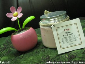 Tvam -- Rose Face Pack Review and Beaute' Naturelle online shopping experience