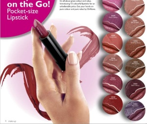 Oriflame Pure Color On The Go Lipstick Swatches!!